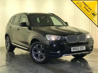 BMW X3 2.0 20d xLine xDrive 5dr 1 OWNER SERVICE HISTORY 2015, 80230 miles, £15000