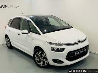 2015 Citroen C4 Picasso 1.6 E HDI Exclusive + in White 1 OWNER