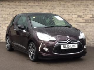 Citroen DS3 1.6 e HDi Airdream DStyle Plus 2dr Sports 2015, 48743 miles, £6193