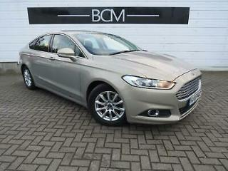 2015 Ford Mondeo 1.5 TDCi ECOnetic Zetec s/s 5dr Diesel silver Manual