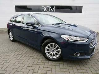 2015 Ford Mondeo 2.0 TDCi ECOnetic Zetec s/s 5dr Diesel blue Manual
