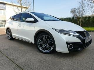 2015 HONDA CIVIC TOURER 1.6 I DTEC SR + FACELIFT + SPORTS PACK + PEARL WHITE