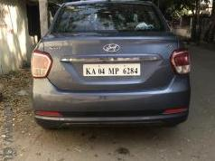 Blue 2015 Hyundai Xcent SX O 35000 kms driven in AECS Layout