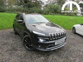 2015 Jeep Cherokee 2.2 MultiJetII Limited Auto 4WD s/s 5dr Diesel black Automa