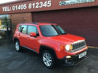 2015 Jeep Renegade 1.6 Multijet Longitude 5dr ONE OWNER FULL SERVICE HISTORY