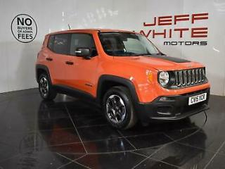 2015 Jeep Renegade 1.6 Multijet Sport 5dr Diesel orange Manual