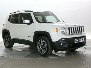 2015 Jeep Renegade 2.0 M Jet Limited 4WD Auto 4X4 Diesel Automatic