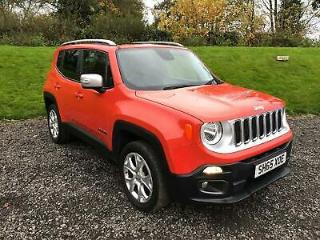 2015 Jeep Renegade 2.0 MultiJetII Limited 4WD s/s 5dr Diesel orange Manual