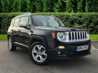 2015 Jeep Renegade Limited Auto Petrol black Automatic
