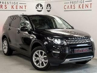 2015 Land Rover Discovery Sport 2.0 TD4 180 HSE 5dr Auto Diesel black Automatic