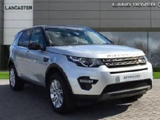 2015 Land Rover Discovery Sport SD4 SE TECH Diesel silver Manual