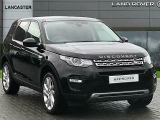 2015 Land Rover Discovery Sport TD4 HSE Diesel black Manual