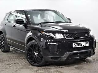 2015 Land Rover Range Rover Evoque TD4 HSE DYNAMIC Diesel black Automatic