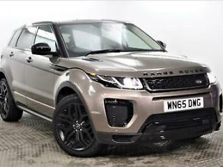 2015 Land Rover Range Rover Evoque TD4 HSE DYNAMIC Diesel brown Automatic