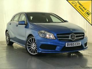 2015 MERCEDES BENZ A180 BLUE CY AMG SPORT DIESEL SAT NAV 1 OWNER SERVICE HISTORY