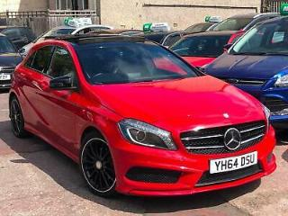 2015 MERCEDES BENZ A CLASS A180 CDI AMG SPORT MANUAL RED NIGHT EDITION PAN ROOF