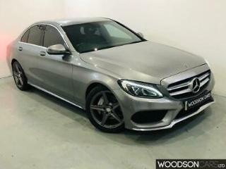 2015 Mercedes Benz C220 CDI AMG Line Automatic Saloon in Grey