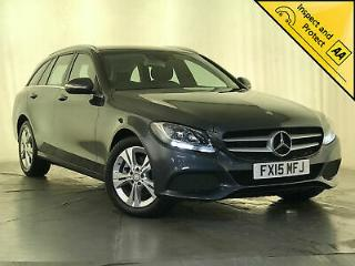 2015 MERCEDES BENZ C220 SE EXECUTIVE BLUETEC ESTATE 1 OWNER SERVICE HISTORY