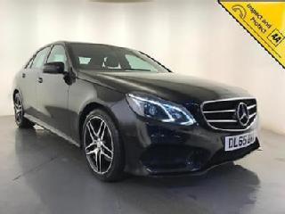 2015 MERCEDES BENZ E200 AMG NIGHT ED BLUETEC AUTOMATIC 1 OWNER SERVICE HISTORY