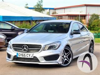 Mercedes Benz CL Class CLA A 180 1.6 AMG Sport 4dr Auto Night Saloon 2015, 35677 miles, £17199