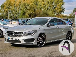 Mercedes Benz CL Class CLA A 180 1.6 AMG Sport 4dr Night Pack Saloon 2015, 33018 miles, £16599