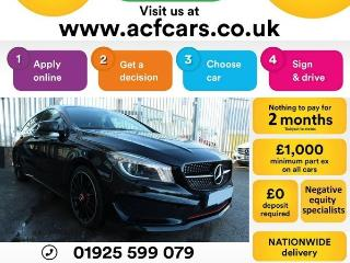 Mercedes Benz CL Class CL CLA220 CDI AMG SPORT CAR FINANCE FR £63 PW Auto Estate 2015, 64000 miles, £13990