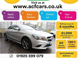 Mercedes Benz CL Class CL CLA200 CDI SPORT CAR FINANCE FR £63 PW Auto Saloon 2015, 62000 miles, £13990