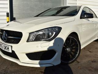 Mercedes Benz CL Class CLA 2.1 CLA220 CDI AMG SPORT 4d 30 ROAD TAX HEATED HALF LEATHER BLUETOOTH CRUISE Saloon 2015, 43000 miles, £18500