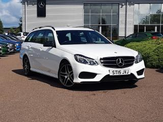 Jun 2015 Mercedes Benz E Class E220 BlueTEC AMG Night Edition 5dr 7G Tronic