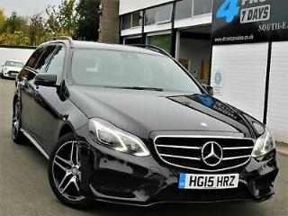 2015 MERCEDES E CLASS E220 CDI BLUETEC AMG NIGHT EDITION 7G TRONIC PLUS 5DR EST