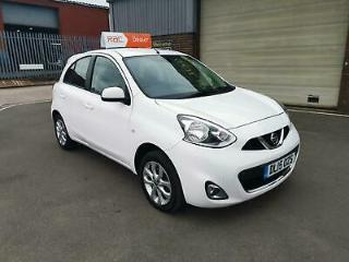 2015 NISSAN MICRA 1.2 5 DOOR CONNECT ACENTA ONLY 37,313 MILES WARRANTED