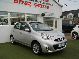 2015 NISSAN MICRA 1.2 ACENTA CONNECT 5 DOOR ONLY 29000 MILES WITH FSH