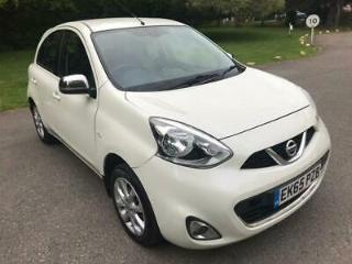 2015 Nissan Micra Acenta 1.2 Manual Petrol White 5dr Hatchback Low running costs