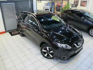 2015 Nissan Qashqai 1.2 DiG T N Tec+ 5dr PAN ROOF 0 FINANCE AVAILABLE SUV P
