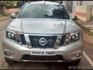 Silver 2015 Nissan Terrano XL D Plus 1,43,000 kms driven in Anna Nagar