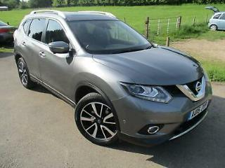 2015 NISSAN X TRAIL DCI TEKNA 7 SEATER 4X4 ESTATE DIESEL