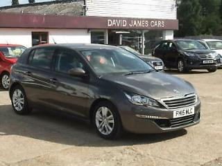 2015 Peugeot 308 1.6 HDi 92 Active 5dr Hatchback Diesel Manual