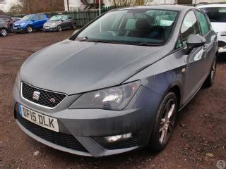 Seat Ibiza 1.4 TSI ACT140 FR 5dr Hatchback 2015, 36720 miles, £7999