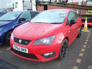 Seat Ibiza Coupe 1.2 TSI FR Black 3dr Hatchback 2015, 39013 miles, £7699