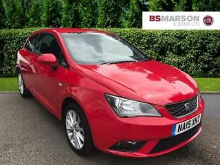 2015 SEAT Ibiza TOCA Petrol red Manual