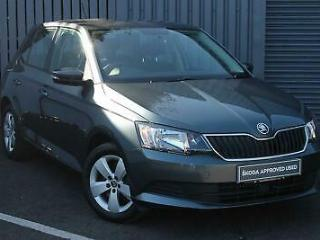 2015 Skoda Fabia 1.2 TSI 110ps SE s/s Petrol grey Manual
