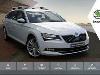 2015 Skoda Superb 2.0 TDI 150ps SE L Executive 5 Dr E