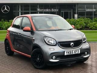 2015 smart forfour 0.9 Turbo Edition 1 5dr Petrol Manual