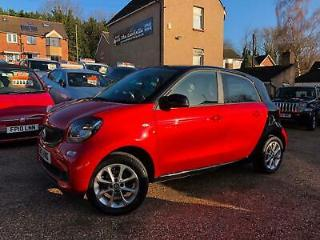 2015 smart forfour 1.0 Passion Premium 5dr HATCHBACK Petrol Manual