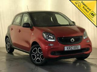 2015 SMART FORFOUR PRIME £0 ROAD TAX PAN ROOF HEATED LEATHER SEATS 1 OWNER