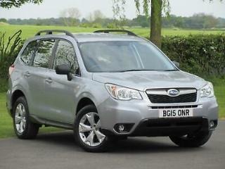 2015 Subaru Forester 2.0D X 5dr 4x4 Diesel Manual