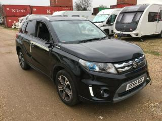 2015 SUZUKI VITARA SZ5 BLACK SALVAGE DAMAGED REPAIR CAT