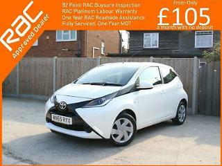 2015 Toyota Aygo 1.0 VVT I x play 5 Door 5 Speed Bluetooth Air Conditioning Just
