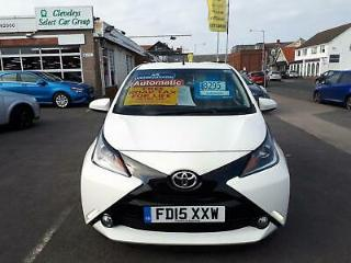 2015 Toyota AYGO 1.0 X Pression Auto 5 Door From £7,195 + Retail Package Ha