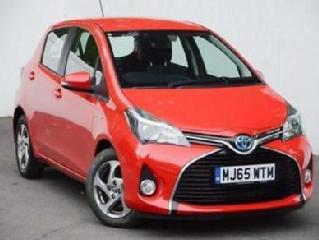 2015 Toyota Yaris 1.5 VVT i Icon PETROL/ELECTRIC red Automatic